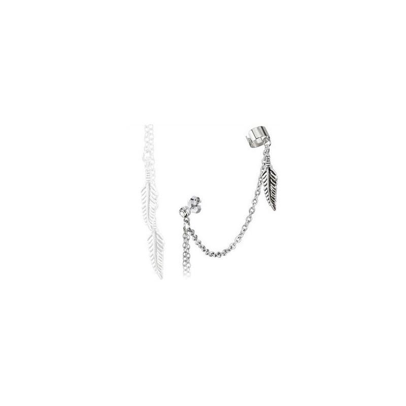 boucles d 39 oreilles bague de cartilage et chaine plumes tarawa bijoux. Black Bedroom Furniture Sets. Home Design Ideas