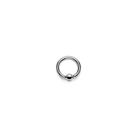 Anneaux piercing acier 1.6mm