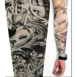 Manche Tattoo Clown et Femmes