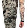 Manche faux tattoo motif Tattoo Clown et Femmes en nylon