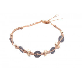 Bracelet zen cordon Feng Shui pierce chinoise