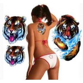 Tatouage Tigre geant autocollant
