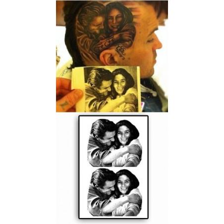 Yelawolf Tattoos Johnny Cash
