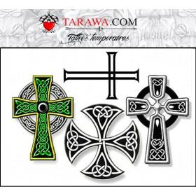 Tatouages éphémère Croix Celtique
