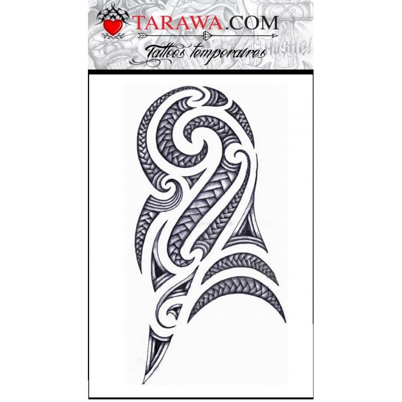 grand Tatouage Maori et Polynesien autocollant