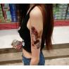 tatouage femme geisha