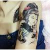 tatouage éphémère geisha en vente