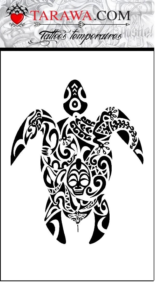 Tatouage Tortue Maori Geante Tarawa Piercing