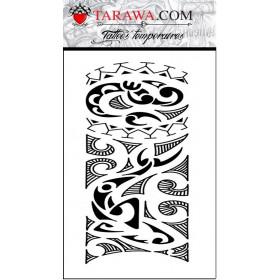 Tatouage Maori et Polynesien totem autocollant