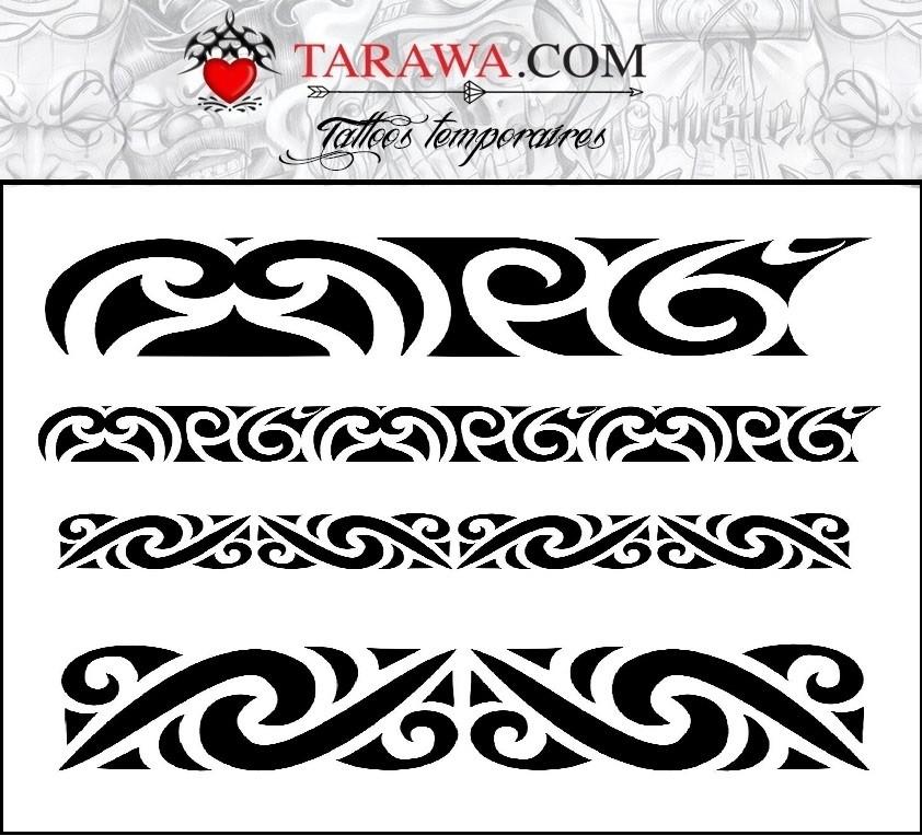 tatouage maorie bracelet. Black Bedroom Furniture Sets. Home Design Ideas