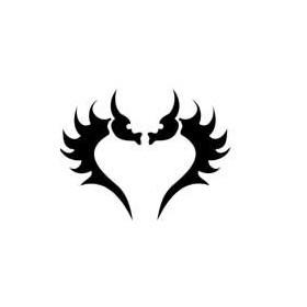 Tatouage Dragon Coeur