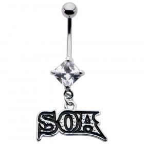 Piercing nombril pendentif SOA