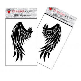 Tatouage éphémère géant ailes d'ange
