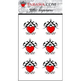 Tatouage cœur tribal Tarawa