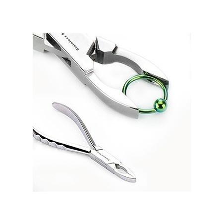 Pince à resserrer les anneaux de piercing