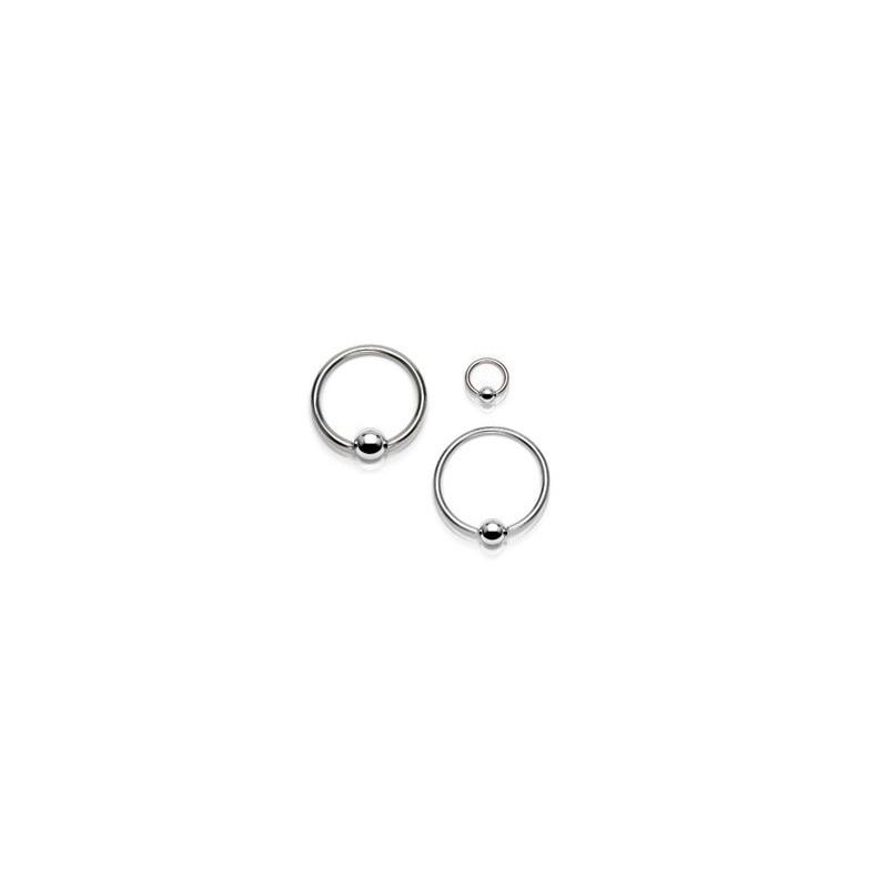 Piercing micro anneau bille 3mm