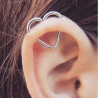 piercing hélix coeur