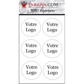 Tatouage éphmère votre logo marque et entreorise
