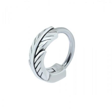 Piercing anneau plume