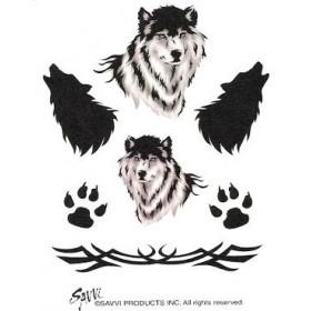 Tatouages Temporaires Loups