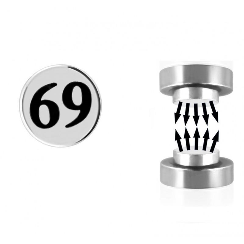 Faux plug aimanté logo 69