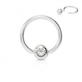 piercing anneau pour le smiley