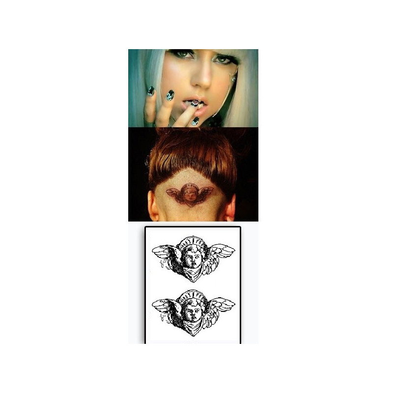 Lady Gaga Tattoo Angel