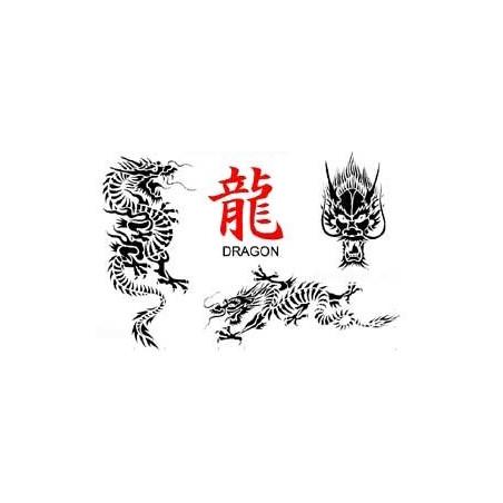 Tattoo Dragon autocollant