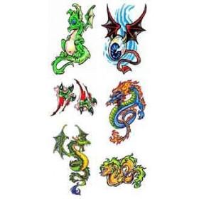 Tatouage Dragon autocollant