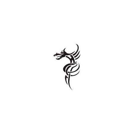 Tatouage autocollant Dragon