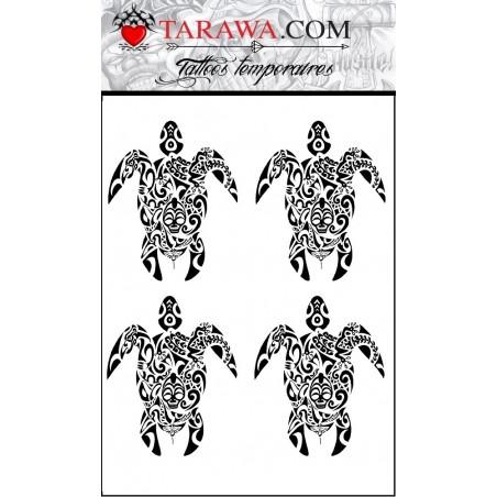 Tatouage tortue Maori