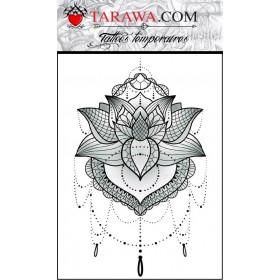Tatouge éphémère Mandala