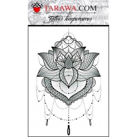 Tatouage éphémère Mandala