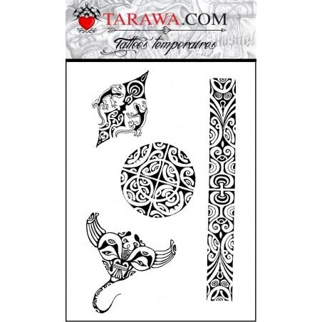 Planche Tattoo Polynesien