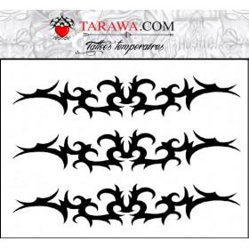 Tatouage Tribal bas de dos