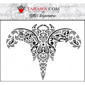 Tatouage rai maori