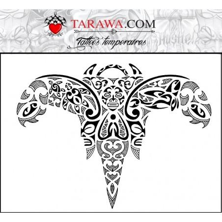 Tatouage Maori Ange autocollant
