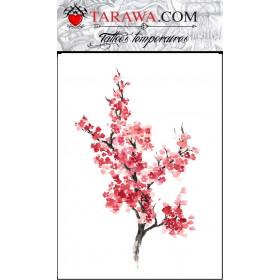 Tatouage fleur de cerisier