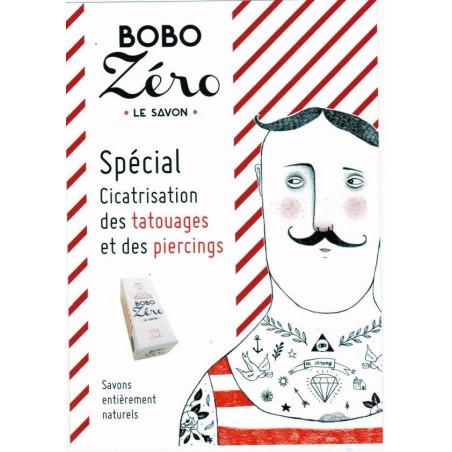 Savon Bobo Zéro tatouage piercing