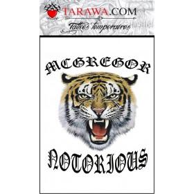 Tatouage Tigre Conor McGregor