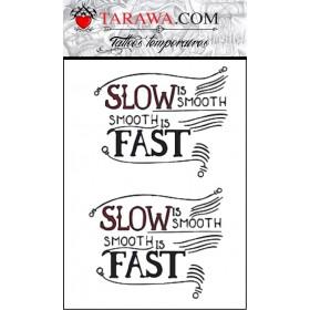 Tatouage Slow and Fast Conor McGregor