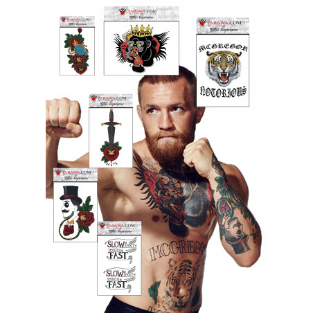 Pack tatouage Conor McGregor