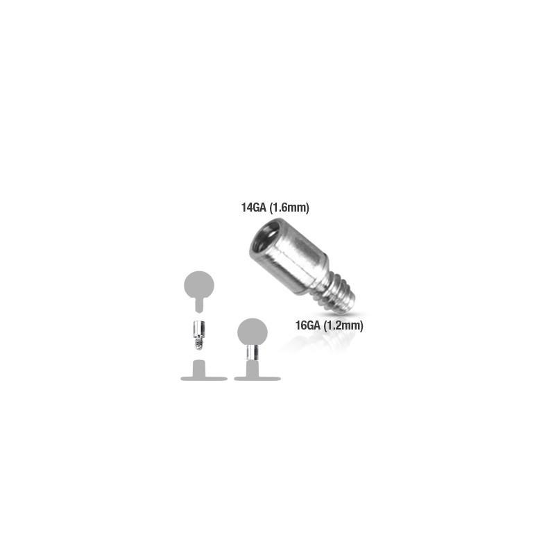 extension pour piercing microdermal