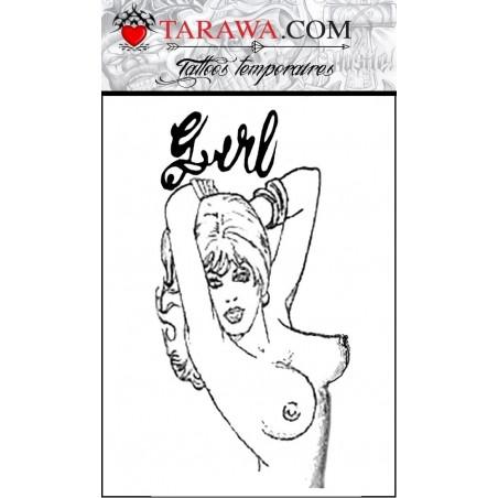 Tatouage girl Amy Winehouse Tattoo