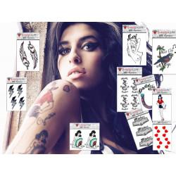 Tatouage Temporaire De Stars Vente De Faux Tatouages De Vip