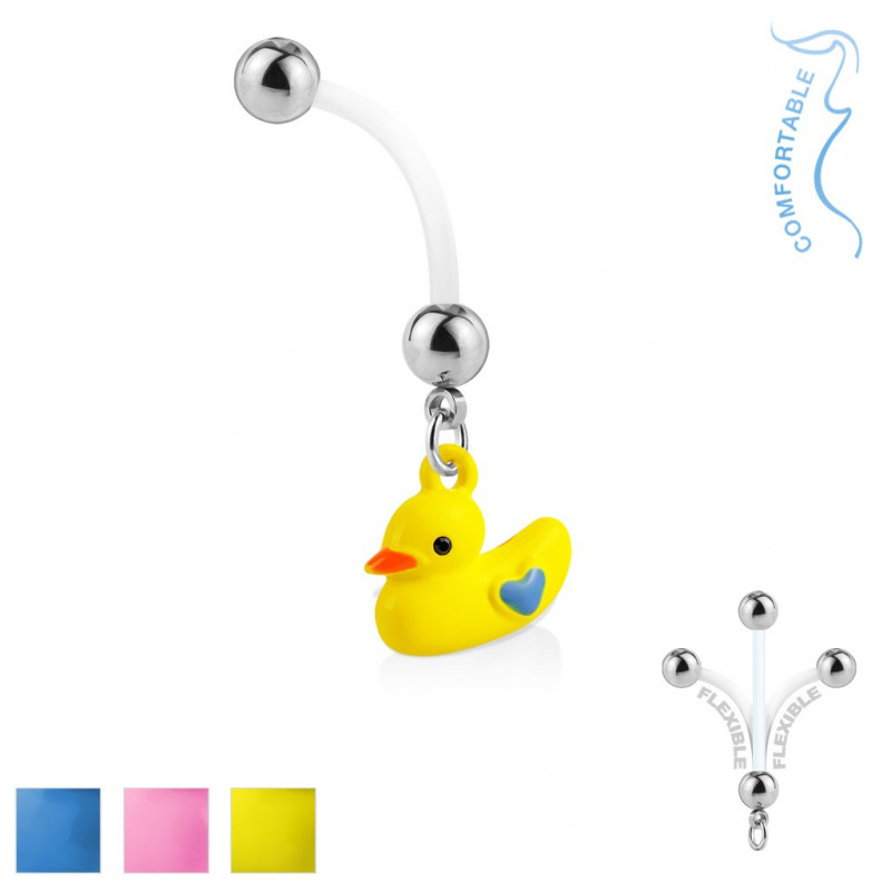 Piercing Nombril de grossesse canard