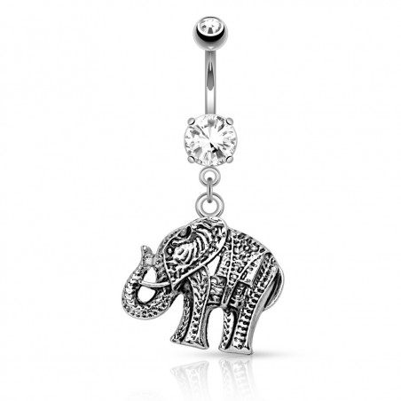 Piercing Nombril Éléphant Hindou