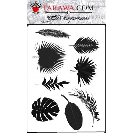 Tatouage temporaire Feuille de palmier