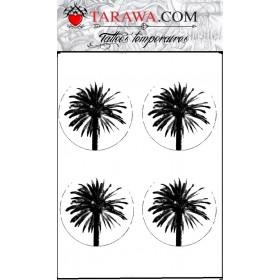 Tatouage Palmier encerclé