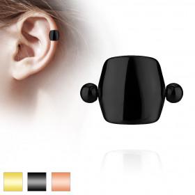 Piercing oreille bouclier acier couleur